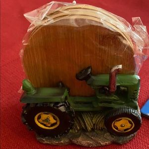 Tractor coaster set 2/$12